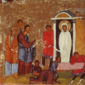 Lazarus_Miracle_Icon_Sinai_12th_century